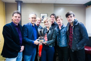The Common Linnets ontvangen DCMA Ambassador Award